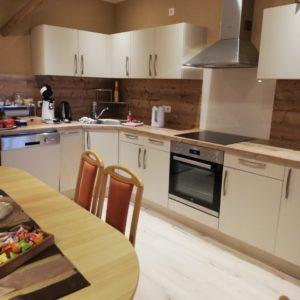 Küchenzeile modern eingerichtet